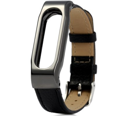 Anti-lost Design Leather Band for Xiaomi Miband 1 / 1S
