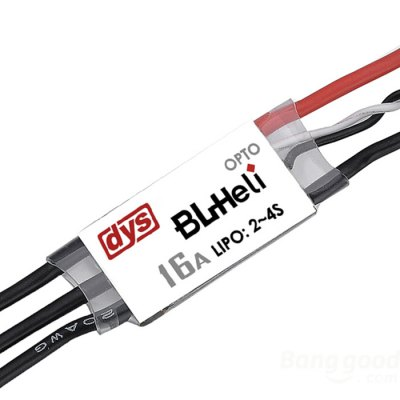DYS BL16A Mini 16A BLHeli OPTO 2 - 4S Brushless ESC for QAV160 / 180 / 250 / 300 / 330 Multicopter