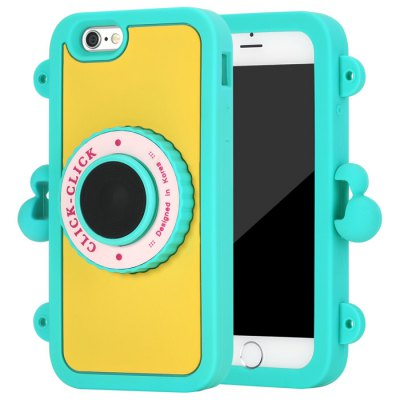 Click Bluetooth 4.0 Selfie Monopod Back Cover Case for iPhone 6 - First Generation
