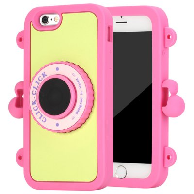 Click Bluetooth 4.0 Selfie Monopod Back Cover Case for iPhone 6 - First GenerationiPhone Cases/Covers<br>Click Bluetooth 4.0 Selfie Monopod Back Cover Case for iPhone 6 - First Generation<br><br>Compatible for Apple: iPhone 6<br>Features: With Bluetooth Timer, Anti-knock, With Lanyard, With Credit Card Holder, Back Cover<br>Material: Silicone<br>Style: Contrast Color<br>Color: Light blue, Light pink, Rose, Light green, Black<br>Product weight : 0.090 kg<br>Package weight : 0.350 kg<br>Product size (L x W x H): 14.6 x 9.2 x 2.7 cm / 5.74 x 3.62 x 1.06 inches<br>Package size (L x W x H) : 21.5 x 16 x 4.5 cm / 8.45 x 6.29 x 1.77 inches<br>Package contents: 1 x Back Case, 1 x Chain, 1 x Chinese and English User Manual