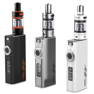 Original Vpark BOX50 Premium Kit Temperature Control E-cigarette Starter Kit - Vpark - VparkMod kits<br>Original Vpark BOX50 Premium Kit Temperature Control E-cigarette Starter Kit<br><br>Type: Mod Kit<br>Model : BOX50 Premium Kit<br>Available Color : White, Black, Silver<br>Material  : Pyrex Glass, Stainless steel<br>Thread Type: 510<br>Atomizer Type: Rebuildable Atomizer<br>Atomizer Resistance: 0.1 / 0.3ohm<br>Atomizer Capacity: 3.0ml<br>Mod Type: Temperature Control Mod, VV/VW Mod<br>Battery Form Factor: 18650<br>Charge way  : USB<br>Product weight  : 0.180 kg<br>Package weight  : 0.3 kg<br>Product size (L x W x H)  : 2.2 x 4.1 x 15.5 cm / 0.86 x 1.61 x 6.09 inches<br>Package size (L x W x H)  : 4 x 6 x 17.5 cm / 1.57 x 2.36 x 6.88 inches<br>Package contents: 1 x Maxtank Pro Atomizer, 1 x V-BOX50 BOX MOD ( battery not included ), 1 x Micro USB Charging Cable, 1 x English User Manual
