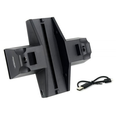 TP4-805 Dual Charging Dock with Fan for PS4 Console