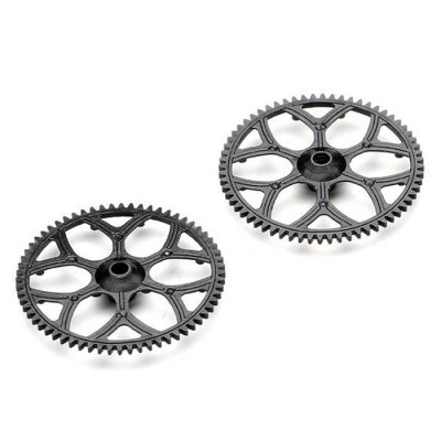 Гаджет   2Pcs Extra Spare Gear for XK K110 K100 Remote Control Helicopter RC Helicopter Parts