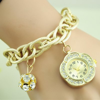 Female Quartz Chain Watch