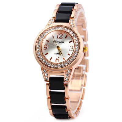 Chaoyada Female Diamond Quartz Watch