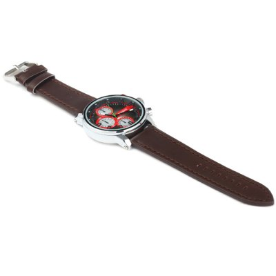 Фотография Curren 8170 Male Quartz Watch with Stereo Scale Leather Band
