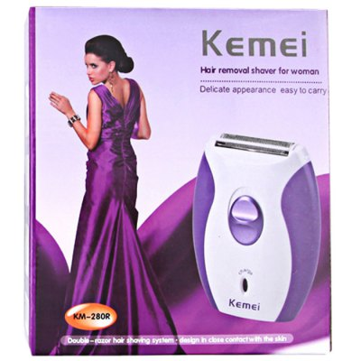 Kemei KM - 280R 3 in 1 Lady Rechargeable Blade Shaver от GearBest.com INT