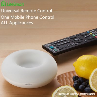 3 in 1 LifeSmart Universal IR Remote Controller