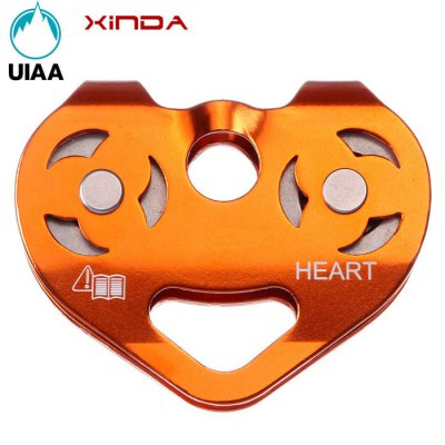 XINDA Magnesium Aluminum Alloy Two-axis Double Pulley