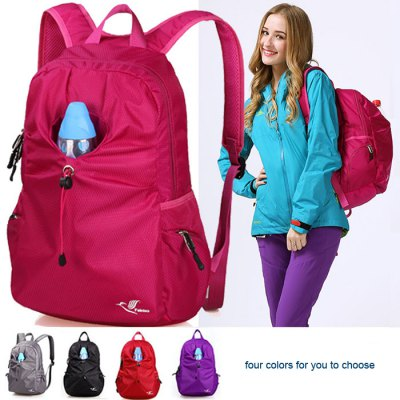 FEINIAO 22L Nylon Water Resistant Backpack for Women