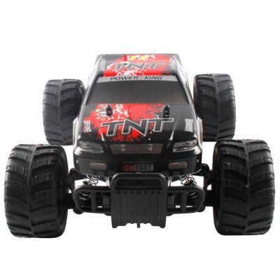 HQ543 IR RC Racer 4-wheel-drive Big Foot 20KMHRC Cars<br>HQ543 IR RC Racer 4-wheel-drive Big Foot 20KMH<br><br>Type: RC Cars<br>Features: Radio Control<br>Functions: Climb, Forward/backward, Turn left/right, Speed up<br>Material: Electronic components, Rubber, ABS<br>Age: Above 3 years old<br>Remote Control: IR Remote Control<br>Control Distance: About 50m<br>Transmitter Power: 1 x 9V Battery<br>Car Power: Built-in rechargeable battery<br>Charging Time: About 80mins<br>Racing Time: About 15mins<br>Package Weight  : 1.65 kg<br>Product Size (L x W x H)   : 28.5 x 20 x 12 cm / 11.20 x 7.86 x 4.72 inches<br>Package Size (L x W x H) : 43.5 x 25.5 x 19.5 cm / 17.10 x 10.02 x 7.66 inches<br>Package Contents: 1 x RC Car, 1 x EU PLUG Charger, 1 x Gun Transmitter, 1 x Car Antenna, 1 x Transmitter Antenna, 1 x 6V Battery, 1 x 9V Battery, 1 x English Manual