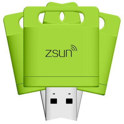 Гаджет   Zsun WiFi USB 2.0 TF Card Reader 2TB