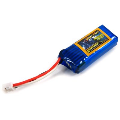 Extra Spare Giant Power 300mAh 7.4V 35C Battery for E - flite Blade 130X Helicopter