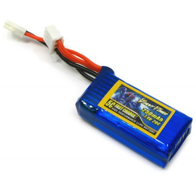 Giant Power JST-plug 250mAh 7.4V 20C Battery