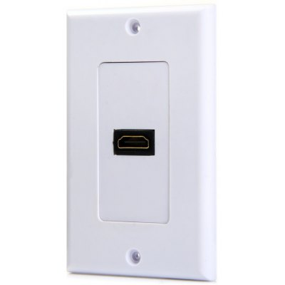 HDMI Female to Female Adapter Converter Socket Wall Panel