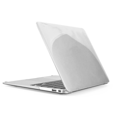 ENKAY Transparent Crystal Protective Hard Case Anti-dust Plugs Keyboard Film 3 in 1 for MacBook Air 13.3 Inch
