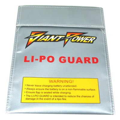 Гаджет   Giant Power Small-size Explosion-proof Fire-proof Lipo Battery Bag for RC Amateur Security Multi Rotor Parts