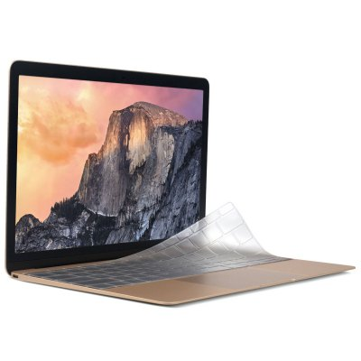 ENKAY Transparent Water-proof Ultra-thin TPU Material Keyboard Sticker for MacBook 12 inch