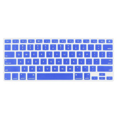 ENKAY Ultrathin Silicone Water-proof Protective Keyboard Sticker for MacBook Pro 13.3 / 15.4 inchMac Keyboards<br>ENKAY Ultrathin Silicone Water-proof Protective Keyboard Sticker for MacBook Pro 13.3 / 15.4 inch<br><br>Brand: ENKAY<br>Compatible with: MacBook Pro 15.4, MacBook Pro 13.3inch<br>Material: Silicone<br>Color: Blue, Green, Light blue, Black, White, Pink<br>Product weight : 0.011 kg<br>Package weight : 0.090 kg<br>Product size (L x W x H): 27.7 x 13 x 0.1 cm / 10.89 x 5.11 x 0.04 inches<br>Package size (L x W x H) : 38 x 14 x 1 cm / 14.93 x 5.50 x 0.39 inches<br>Package contents: 1 x Keyboard Film