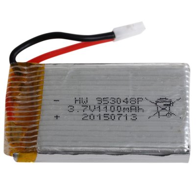 Extra Spare 3.7V 25C 1100mAh Battery for Syma X5SC X5SW Remote Control QuadcopterRC Quadcopter Parts<br>Extra Spare 3.7V 25C 1100mAh Battery for Syma X5SC X5SW Remote Control Quadcopter<br><br>Type: Batteries<br>Package weight: 0.081 kg<br>Package size (L x W x H): 7 x 5 x 3 cm / 2.75 x 1.97 x 1.18 inches<br>Package Contents : 1 x Battery