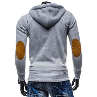 Classic Color Spliced Applique Button Pocket Embellished Hooded Long Sleeves Mens Slim Fit HoodieMens Hoodies &amp; Sweatshirts<br>Classic Color Spliced Applique Button Pocket Embellished Hooded Long Sleeves Mens Slim Fit Hoodie<br><br>Material: Cotton Blends<br>Clothing Length: Regular<br>Sleeve Length: Full<br>Style: Casual<br>Weight: 0.510KG<br>Package Contents: 1 x Hoodie