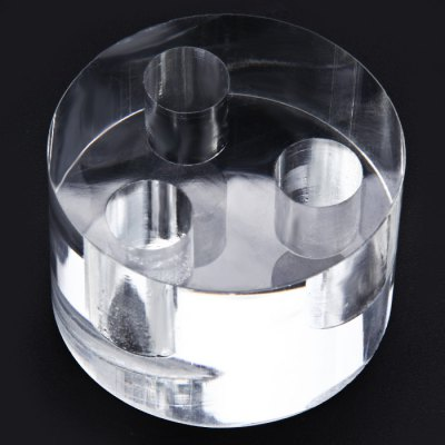 Cylindrical E-cig Acrylic Display HolderAccessories<br>Cylindrical E-cig Acrylic Display Holder<br><br>Type: Tools<br>Accessories type: Stands<br>Material: Acrylic<br>Available Color: Transparent<br>Product weight  : 0.118 kg<br>Package weight   : 0.2 kg<br>Product size (L x W x H)  : 6 x 6 x 4 cm / 2.36 x 2.36 x 1.57 inches<br>Package size (L x W x H)  : 7 x 7 x 5 cm / 2.75 x 2.75 x 1.97 inches<br>Package Contents: 1 x Acrylic E-cigarette Display Stand