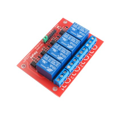 4-CH High Level Trigger Relay Module