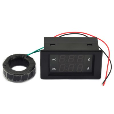 3 Digit AC 500V 200A Voltage Current Meter Tester