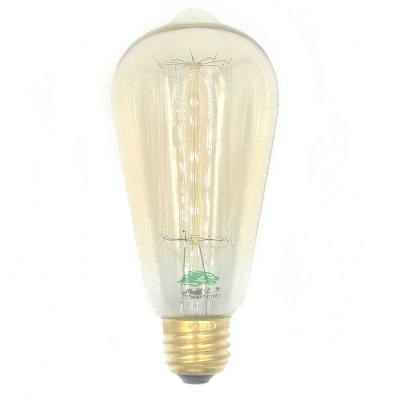 2PCS Zweihnder E27 Edison Light Bulb