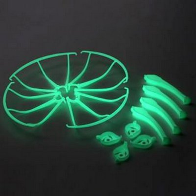 Extra Spare Luminous Protection Ring Set for Syma X5SC X5WS Remote Control Quadcopter