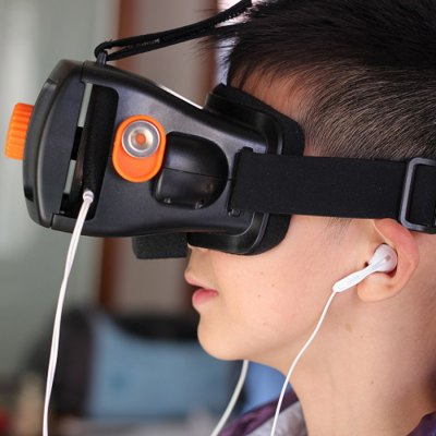 VR Space Virtual Reality Headset 3D Glasses