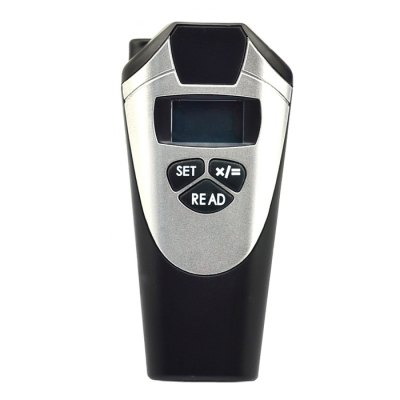 Digital LCD Handheld Ultrasonic Laser Range Finder