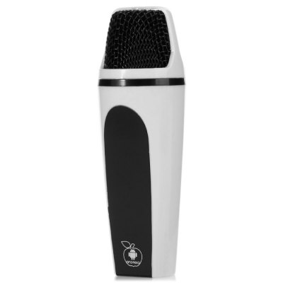 MC-916 Mini Handheld Microphone Voice Recorder Karaoke Singing EnquipmentiPhone Speakers<br>MC-916 Mini Handheld Microphone Voice Recorder Karaoke Singing Enquipment<br><br>Compatibility: iPhone 6S, Samsung Note 5, Samsung Galaxy S6 Edge Plus, iPhone 6, iPhone 6S Plus, iPhone 6 Plus<br>Frequency: 28Hz - 20KHz<br>Battery capacity: 400mAh<br>Color: Silver<br>Product weight: 0.080 kg<br>Package weight: 0.290 kg<br>Product size (L x W x H) : 12.3 x 3.6 x 2.2 cm / 4.83 x 1.41 x 0.86 inches<br>Package size (L x W x H): 14.5 x 8.5 x 6.5 cm / 5.70 x 3.34 x 2.55 inches<br>Package Contents: 1 x Microphone, 1 x Micro USB Charge Cable, 1 x 3.5mm Jack Audio Cable, 1 x Recording Line for Android, 1 x Recording Line for iPhone, 1 x Earphone