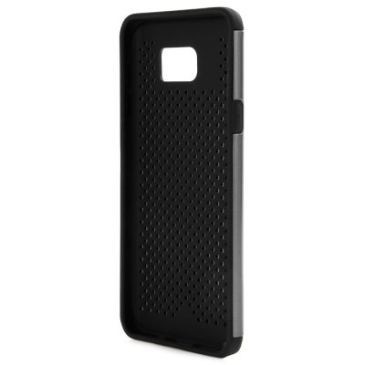 ФОТО 2 in 1 PC and TPU Protective Back Cover Hollow Out Dot Design Case for Samsung Galaxy Note 5 N9200