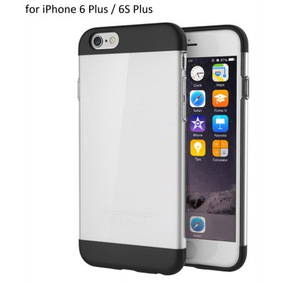 ROCK Aully Series Phone Back Case for iPhone 6 / 6S Plus TPU PC Material Back Cover Protector