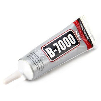 B-7000 Multi-purpose Adhesives GlueOther Tools<br>B-7000 Multi-purpose Adhesives Glue<br><br>Color: Gray<br>Compatible: Watch<br>Function: Adhesive<br>Material: Rubber<br>Package Contents: 1 x B-7000 Multi-purpose Adhesives Glue<br>Package size (L x W x H): 17.90 x 11.80 x 3.00 cm / 7.05 x 4.65 x 1.18 inches<br>Package weight: 0.103 kg<br>Product size (L x W x H): 14.90 x 4.50 x 2.90 cm / 5.87 x 1.77 x 1.14 inches<br>Product weight: 0.049 kg<br>Special features: Multi-purpose<br>Type: Other hardware tools