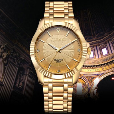 Chenxi 050A Male Japan Quartz WatchMens Watches<br>Chenxi 050A Male Japan Quartz Watch<br><br>Brand: Chenxi<br>Watches categories: Male table<br>Watch style: Business<br>Style elements: Stainless steel<br>Watch color: Silver and Golden, White, Black, Gold<br>Movement type: Quartz watch<br>Shape of the dial: Round<br>Display type: Analog<br>Case material: Stainless steel<br>Band material: Stainless steel<br>Clasp type: Folding clasp with safety<br>Water resistance: 30 meters<br>The dial thickness: 1.2 cm / 0.47 inches<br>The dial diameter: 4.0 cm / 1.57 inches<br>The band width: 2.0 cm / 0.79 inches<br>Product weight: 0.106 kg<br>Package weight: 0.156 kg<br>Product size (L x W x H): 19 x 4 x 1.2 cm / 7.47 x 1.57 x 0.47 inches<br>Package size (L x W x H): 20 x 5 x 2.2 cm / 7.86 x 1.97 x 0.86 inches<br>Package contents: 1 x Chenxi 050A Watch