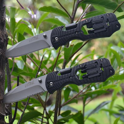CIMA Multi-purpose Liner Lock Foldable Knife