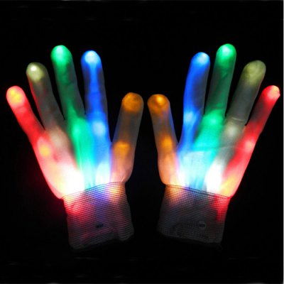XHL-B-WI Full Finger LED GlovesOther Sports Gadgets<br>XHL-B-WI Full Finger LED Gloves<br><br>Model Number: XHL-B-WI<br>Type: Full-finger<br>Features: LED Light, Water Resistance<br>Material: Nylon<br>Product weight   : 0.048 kg<br>Package weight  : 0.11 kg<br>Product size (L x W x H)   : 23 x 12 x 1 cm / 9.04 x 4.72 x 0.39 inches<br>Package size (L x W x H)  : 32 x 16 x 3 cm / 12.58 x 6.29 x 1.18 inches<br>Package contents: 1 x Pair of XHL-B-WI Full Finger LED Gloves (2PCS CR2032 Battery Pre-installed)