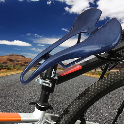 Carbon Fiber Saddle SeatCycling<br>Carbon Fiber Saddle Seat<br><br>Type: Bicycle Saddles<br>Suitable for : Bike, Mountain Bicycle, Road Bike<br>Color: Blue, Purple, White, Red<br> Product weight : 0.127 kg<br>Package weight : 0.162 kg<br>Product size (L x W x H)   : 26.20 x 13.00 x 5.30 cm / 10.30 x 5.11 x 2.08 inches<br>Package size (L x W x H)  : 26.5 x 13.6 x 5.8 cm / 10.41 x 5.34 x 2.28 inches<br>Package Contents: 1 x 3K Matte Road MTB Bike Bicycle Full Carbon Fiber Cushion Hollow Saddle Seat