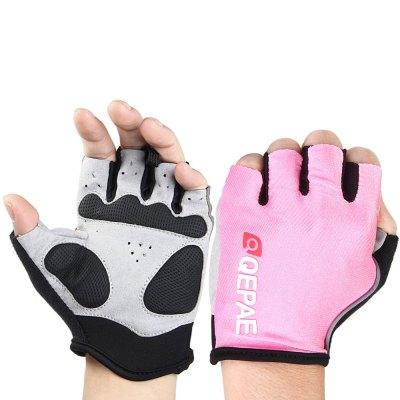 QEPAE Half Finger Cycling Gloves