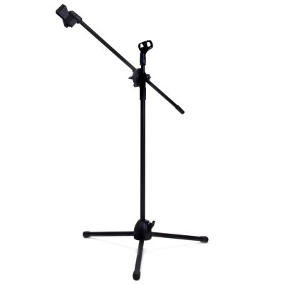 NB - 107 Microphone Tripod Stand with Dual MIC Clip