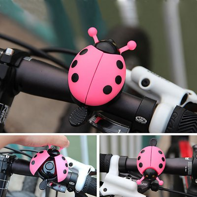Beetle Shaped Bike Handlebar Bell Ring for Outdoor Cycling
