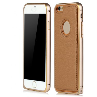 Slim PU Leather Back Cover Case for iPhone 6 6S 4.7 inches