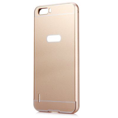 Thin PC Phone Cover Case with Mental Frame for HUAWEI Honor 6 PlusCases &amp; Leather<br>Thin PC Phone Cover Case with Mental Frame for HUAWEI Honor 6 Plus<br><br>Compatibility: HUAWEI<br>Compatible Model: HUAWEI Honor 6 Plus<br>Features: Bumper Frame, Back Cover<br>Material: PC, Metal<br>Style: Solid Color<br>Color: Silver, Gold, Black<br>Product weight : 0.032 kg<br>Package weight : 0.055 kg<br>Product size(L x W x H): 15.4 x 7.9 x 1.0 cm / 6.05 x 3.10 x 0.39 inches<br>Package size (L x W x H) : 16.0 x 8.5 x 1.5 cm / 6.29 x 3.34 x 0.59 inches<br>Package Contents: 1 x Anti-scratch PC Back Cover Case with Aluminum Metal Bumper Frame for HUAWEI Honor 6 Plus