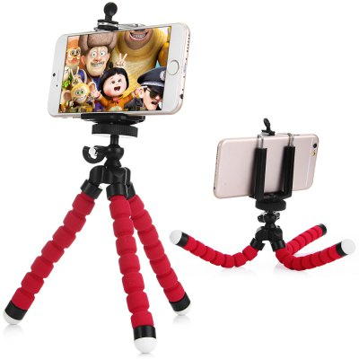 Universal Adjustable Cell Phone Tripod Octopus Holder Stand