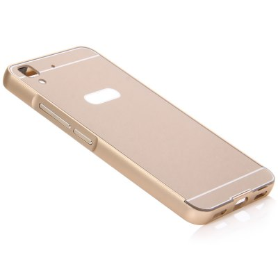 Thin PC Phone Cover Case with Mental Frame for HUAWEI Honor 4A