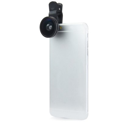 LIEQI LQ - 603 Super Wide 0.4X Clip-on Fisheye LensiPhone Lenses<br>LIEQI LQ - 603 Super Wide 0.4X Clip-on Fisheye Lens<br><br>Brand: LIEQI<br>Features: Lens with Stand<br>Lens Type: Macro Lens, Fish-Eye Lens, Wide-Angle-Lens<br>Material: Plastic, Metal, Other<br>Magnification: 4X<br>Angle of view: 180 degrees<br>Material: Metal, Other<br>Material: Metal, Other<br>Material: Other, Metal<br>The shot distance: 2 - 4cm<br>Product weight: 0.049 kg<br>Package weight: 0.135 kg<br>Product size (L x W x H) : 3.7 x 3.7 x 2.2 cm / 1.45 x 1.45 x 0.86 inches<br>Package size (L x W x H): 12.5 x 8.2 x 3.5 cm / 4.91 x 3.22 x 1.38 inches<br>Package Contents: 1 x Wide Angle Lens, 1 x Fisheye Lens, 1 x Macro Lens, 1 x Cleaning Cloth, 4 x Lens Caps, 1 x Universal Clip, 1 x EVA Bag