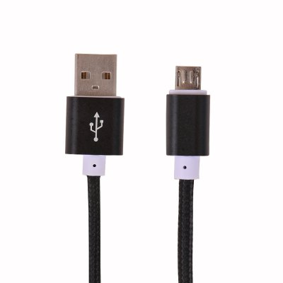 1.5 Meters Nylon FabricBraided Micro USB to USB Data Charging Cable