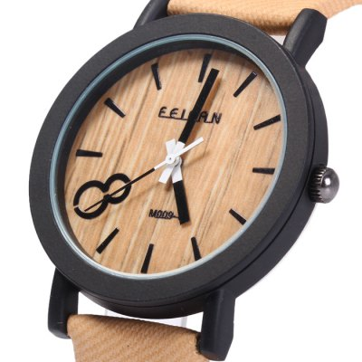 FEIFAN Big Number 8 Male Quartz Watch with Leather BandMens Watches<br>FEIFAN Big Number 8 Male Quartz Watch with Leather Band<br><br>Brand: FEIFAN<br>Watches categories: Male table<br>Watch style: Fashion<br>Watch color: Dark brown, Light brown, Coffee, Earth yellow, Black, Gray<br>Movement type: Quartz watch<br>Shape of the dial: Round<br>Display type: Analog<br>Case material: Stainless Steel<br>Band material: Leather<br>Clasp type: Pin buckle<br>The dial thickness: 0.7 cm / 0.28 inches<br>The dial diameter: 4.0 cm / 1.57 inches<br>The band width: 1.8 cm / 0.71inches<br>Wearable length: 16 - 21 cm / 6.3 - 8.27 inches<br>Product weight: 0.037 kg<br>Package weight: 0.087 kg<br>Product size (L x W x H): 25.50 x 4.00 x 0.70 cm / 10.04 x 1.57 x 0.28 inches<br>Package size (L x W x H): 26.50 x 5.00 x 1.70 cm / 10.43 x 1.97 x 0.67 inches<br>Package Contents: 1 x FEIFAN Watch